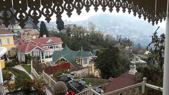 Mayfair Darjeeling: The hotel and part of the city