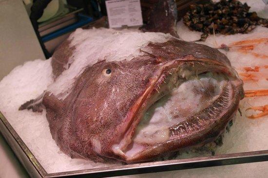 Mercado San Miguel: Banco pescheria