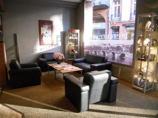 Mercure Toulouse Centre Wilson Capitole : recepción