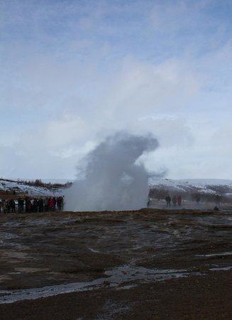 Geyser geothermal area - Strokkur