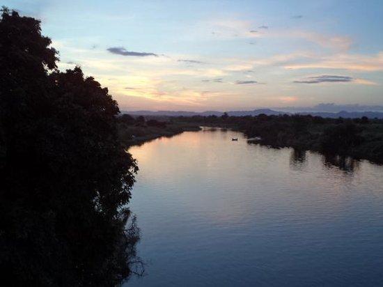 Gwabi River Lodge: Gwabi River Sunset