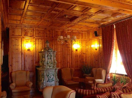 Hotel San Lorenzo: Una meravigliosa stufa in ceramica