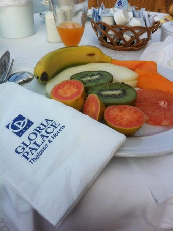Gloria Palace Amadores Thalasso & Hotel: Vitamine zum Frühstück