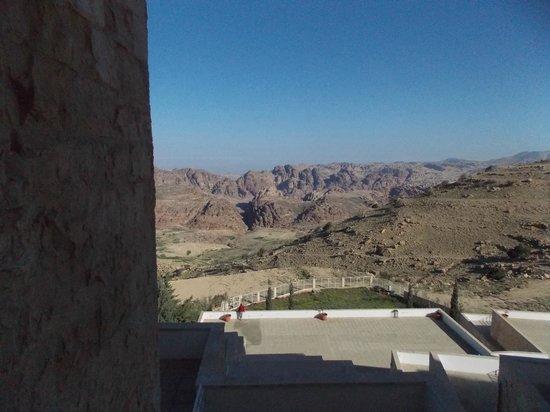 Petra Panorama Hotel : Espectaculares vistas al amanecer