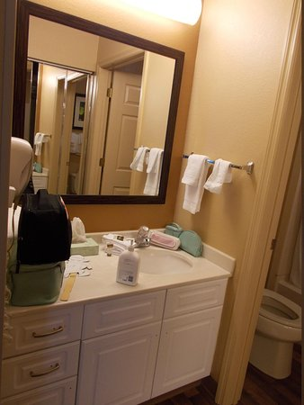 Extended Stay America - Orlando - Lake Buena Vista : vanity area and sink