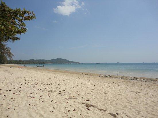 Na-Thai Resort: Einer der vielen Strände um Ao Nang.