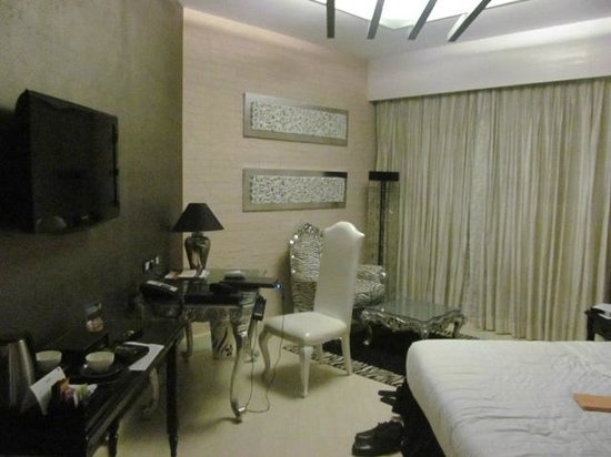 The Zuri Whitefield Bangalore : View of the room where I stayed
