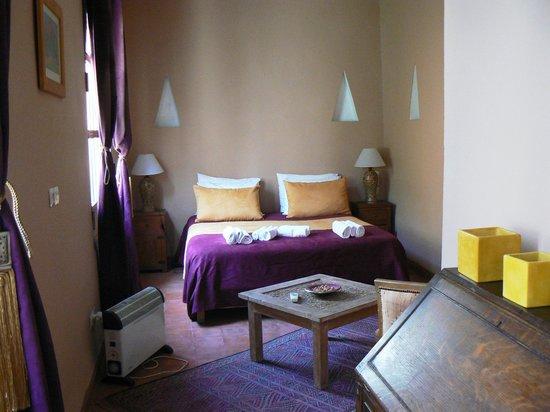 Riad Hadika Maria : chambre a l'étage