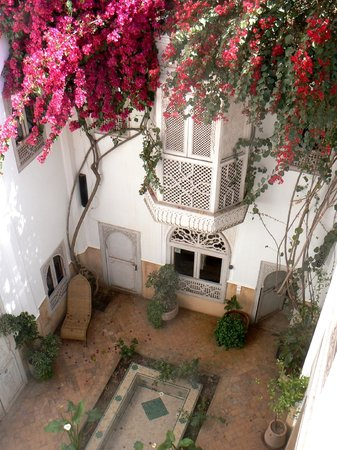 Riad Hadika Maria: un des patios