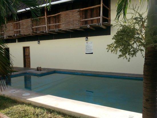 Hostel el Meson de Tulum: La piscine