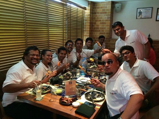 Barbeque Nation: My Team