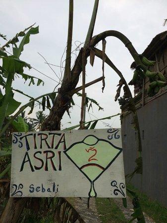 Tirta Asri Ubud : Welcome!