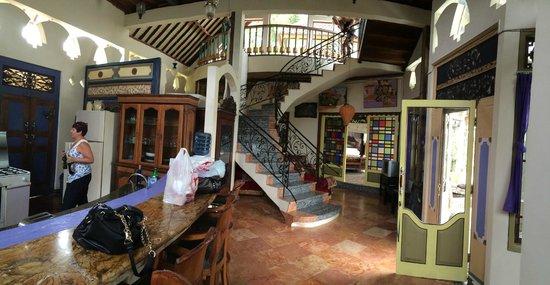 Tirta Asri Ubud : The foyer