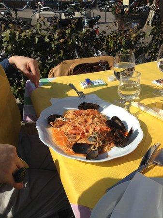 Hostaria Vecia : Spaghetti allo scoglio.....divini!