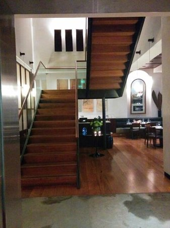 Hotel Lindrum Melbourne - MGallery Collection: Stairs leading from ground floor area (lift available)