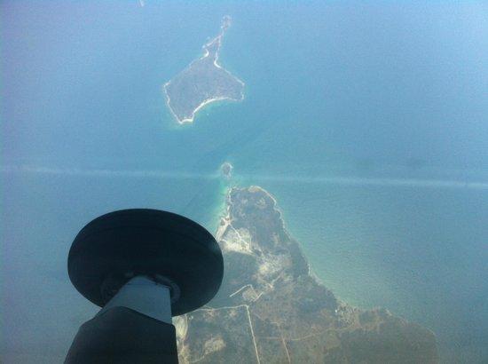 Soneva Kiri: flight from Don Muang to Soneva by private Cessna