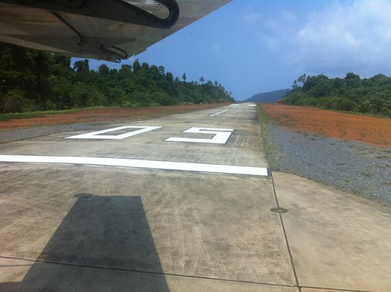 Soneva Kiri: the private airstrip... How to travel in style.