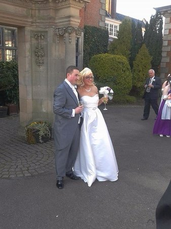 Dunchurch Park: Us on our magical day