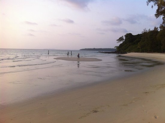 Soneva Kiri: a dreamy beach
