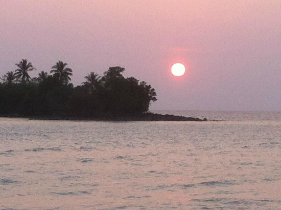 Soneva Kiri: magical sunsets...