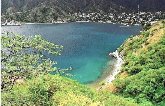 Playa Grande: la playa dall'alto