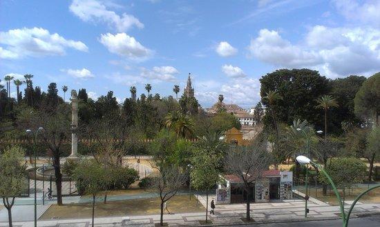 Hotel Alcazar : Vista desde la habitación