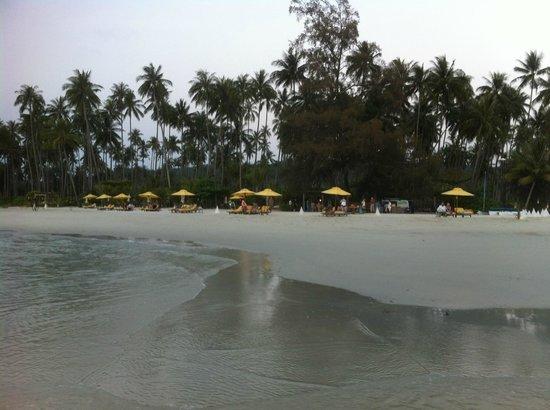 Soneva Kiri: just adore this beach