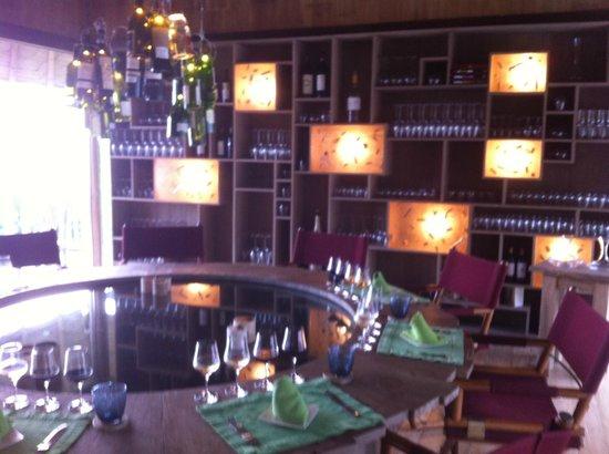 Soneva Kiri: private wine tasting, so special.
