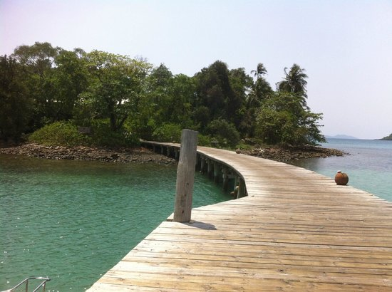 Soneva Kiri: the beautiful jetty