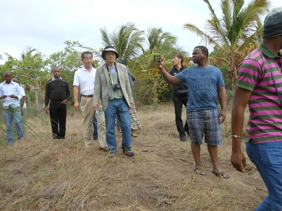 Pescador : Chibuene entrence
