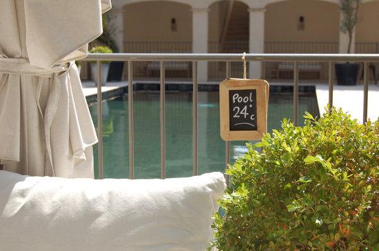 Pastis Hotel St Tropez: PASTIS - the heat is on.  St Tropez
