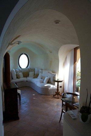 Santa Caterina Hotel: Chalet sitting area