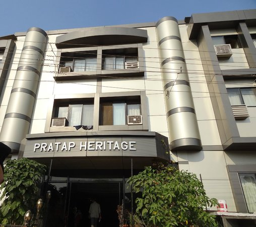 Pratap Heritage: Hotel outer view