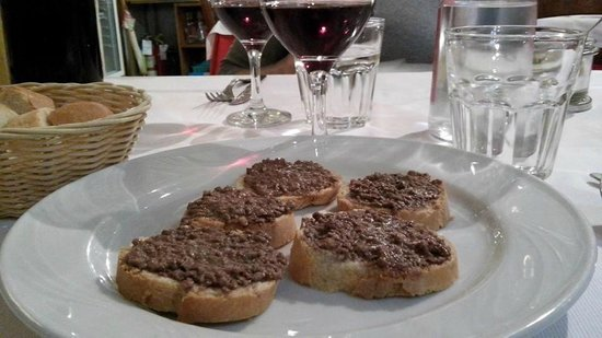 Ristorante Da Mario: Crostini tipici toscani !