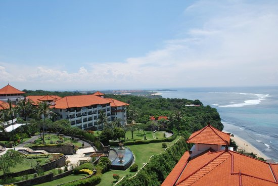 Hilton Bali Resort: views from the tower