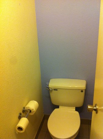 Novotel Birmingham Centre: Weird toilet room