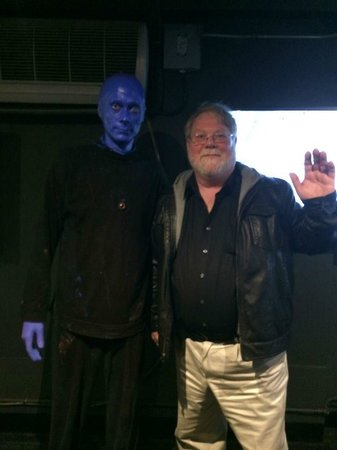 Blue Man Group: Photo-Op With Blue Man