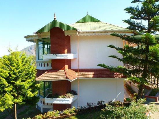 Camelot Resort: Haus mit Blick in das Tal