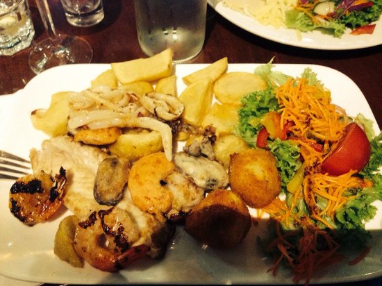 New Plymouth, New Zealand: The seafood platter