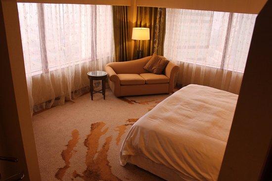 Sheraton Imperial Kuala Lumpur Hotel : bedroom in suite