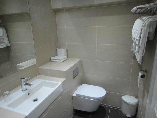 Athena Hotel : Toilet