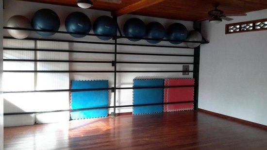 Pilates Nosara at Bodhi Tree Resort: The main studio for mat classes