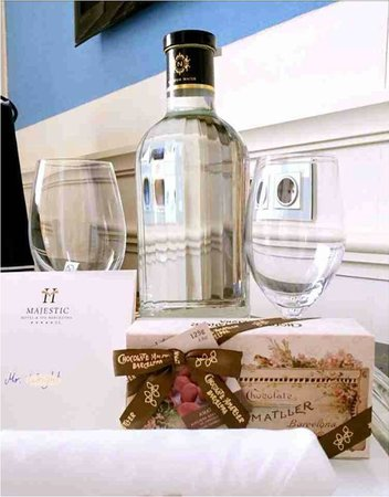 Majestic Hotel & Spa Barcelona : A welcome gift