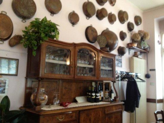 Trattoria del Fagiano: The resturant