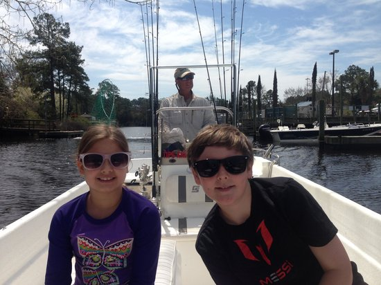 Reel Action Fishing Charters: Heading out for an adventure with Captain John