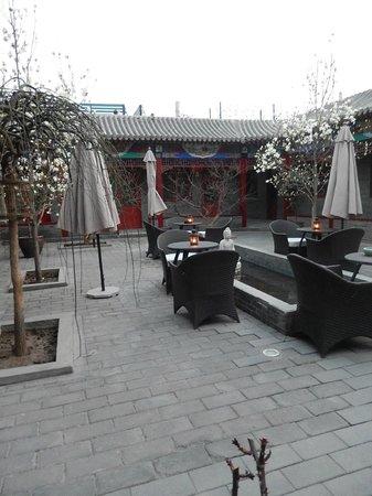Hotel Cote Cour Beijing : La cour intérieur