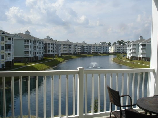 Myrtlewood Villas: View from balcony, master bedroom and den