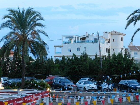 Residence Playa Romana : Vu de la chambre