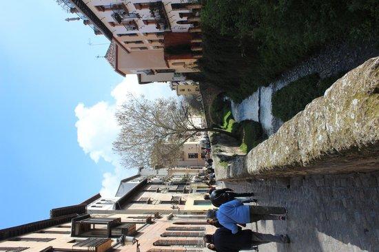 El Ladron de Agua: outside the hotel