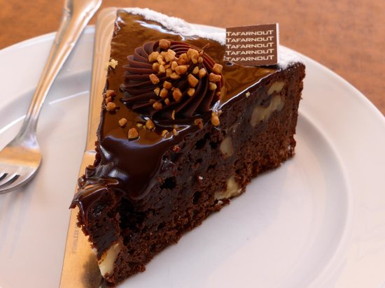 Patisserie Tafarnout : Superb chocolate cake